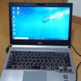 【薄型ノートPC 】 高性能core i5 新品SSD120GB...