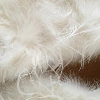 成人式 ショール 羽毛100%