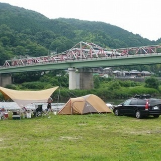 10月12日13日、京都笠置キャンプ カヌー体験 キャンプのみ参...
