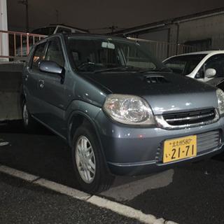 【ブラックOK!】SUZUKI Keiターボ低走行車検ロング【自...