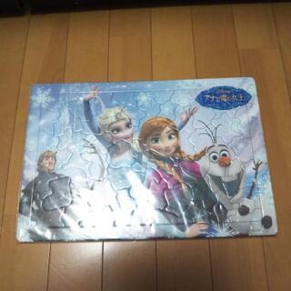 子供 おもちゃ アナと雪の女王 パズル 中古