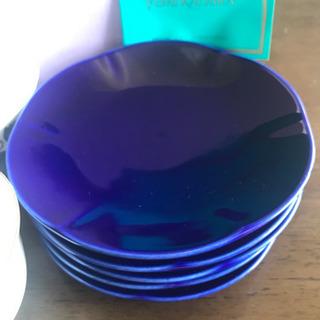 【新品未使用】桂由美 茶器セット 藍花 茶菓揃 − 奈良県