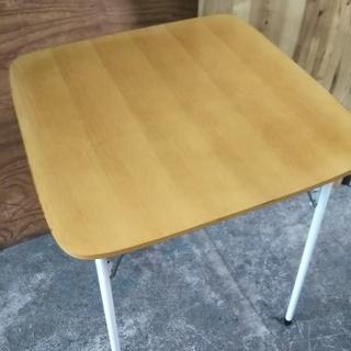 [折り畳みダイニングテーブル]⁑リサイクルショップヘルプ