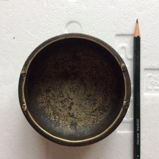 大明宣徳年製香炉 銅製 本物保証