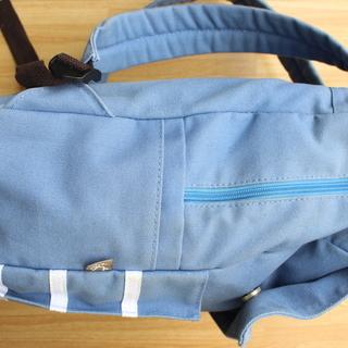デイパック(セーラー襟風フラップ付) - 靴/バッグ