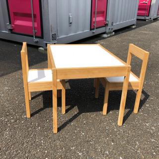 (引渡決定)IKEA 子供用 テーブル&椅子