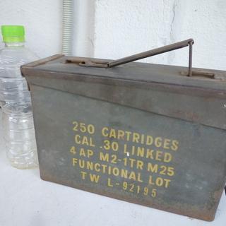 (商談中)米軍の弾薬箱  工具入れに如何