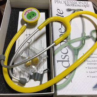ガチャピン 聴診器 ADスコープ ダブルタイプ