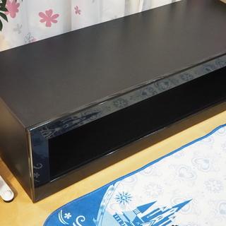120cm幅のテレビ台 黒 引取限定