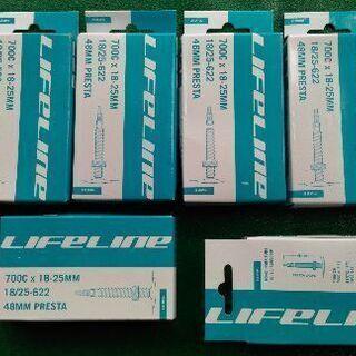 LifeLine ロードインナーチューブ 5個(+1個おまけ)7...