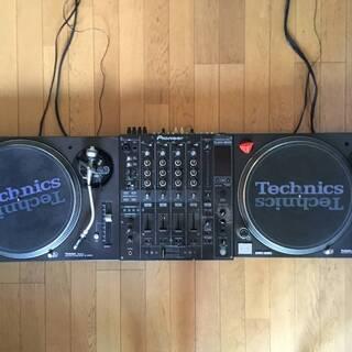 DJセット(DJミキサー:Pioneer DJM-800 × 1...