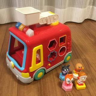 値下げしました!アンパンマンの消防車のオモチャです