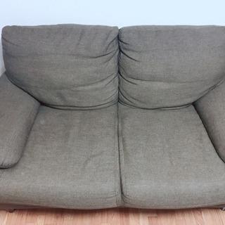 茶色のソファです。