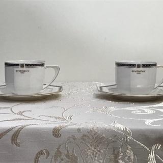 ジバンシイ(GIVENCHY) ティーカップ&ソーサー 2客セット