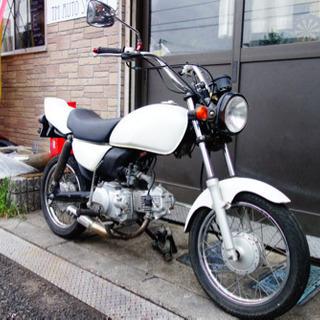 スズキ gs50 カスタム パールホワイト 原付 50cc