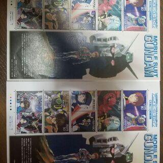 機動戦士ガンダム 切手 額面680円×2枚 未使用