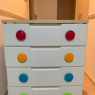 キッズ★タンス 収納 BOX 4段
