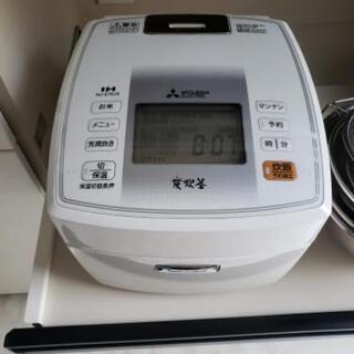 炊飯器 5.5合 三菱電機ジャーNJ-VE108W