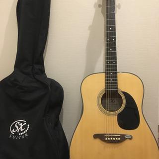 SX アコースティックギター ソフトケース付き