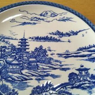 未使用【 大皿31センチ】和皿浅型② - 生活雑貨