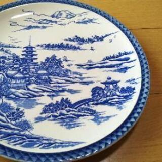未使用【 大皿31センチ】和皿浅型② − 新潟県