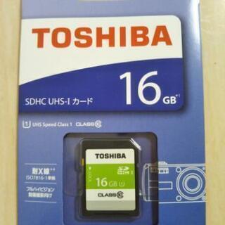 SDHCカード 16GB 高速Class10 東芝
