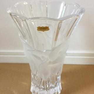 ☆ノリタケ クリスタル 花瓶 約21,5cm