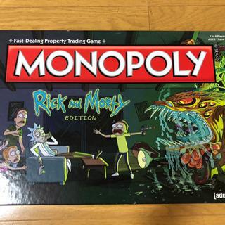 リックとモーティ モノポリー MONOPOLY Rick and...