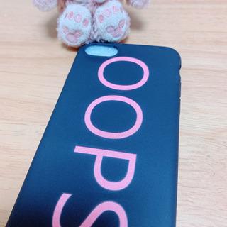 送料無料 iPhone7 8 カバー ケース ロゴ