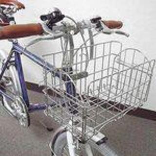 自転車折りたたみバスケット