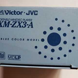 Victor-JVC XM-ZX3-A MDプレーヤー