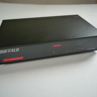 BUFFALO Giga対応 電源内蔵 5ポート スイッチングH...