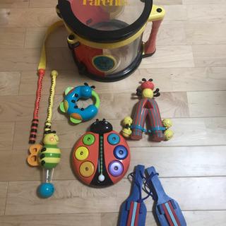 Parents Bee Bop Band 虫の楽器セット