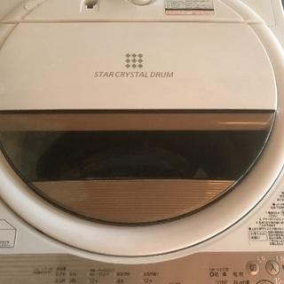 東芝 全自動洗濯機 6.0kg【AW-6G5】