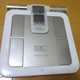オムロン 体重体組成計 カラダスキャン HBF-362 体重計 ...