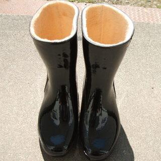 ボア長靴レディース(22.5cm)