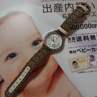 決定!COACH 腕時計(電池止まっています)