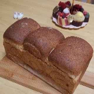 手ごねパンレッスン【ロースト小麦胚芽の食パン】