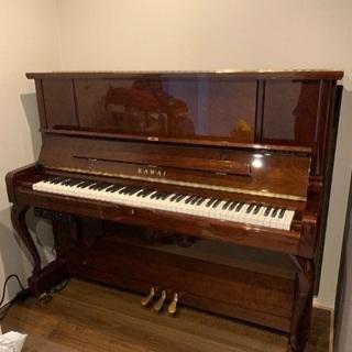 9月10日まで 2017年購入 KAWAI  アップライトピアノ...