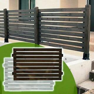 お庭のフェンス 取り付け、基礎工事格安で承ります😃