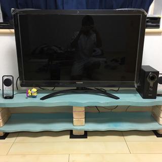 手作りテレビ台です⭐️ 値下げしました!
