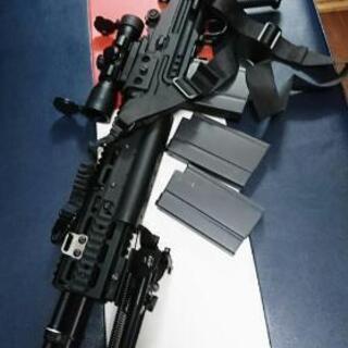 G&Gアーマメント M14 7.62mmライフル電動ガンEBRストック