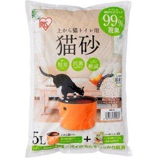 猫トイレ用砂 5L×2袋 計10L (新品)  アイリス…
