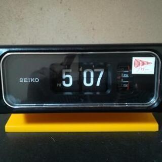 セイコー デジタル置き時計 希少 レトロ