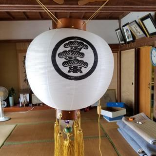 丸盆提灯(最終値下げ)
