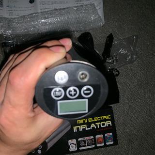 (新品)空気入れ 電動エアコンプレッサー 小型電動ポンプ 12V...