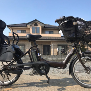 9-64 電動自転車ヤマハパスキッス20インチ 充電器なし