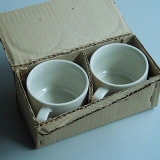 野村證券ノベルティ コアラのペアマグカップ
