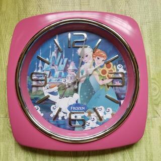 500円 アナと雪の女王 掛け時計 ディズニークロック