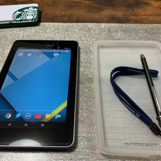 Nexus7丁度いい大きさのタブレットです^_^
